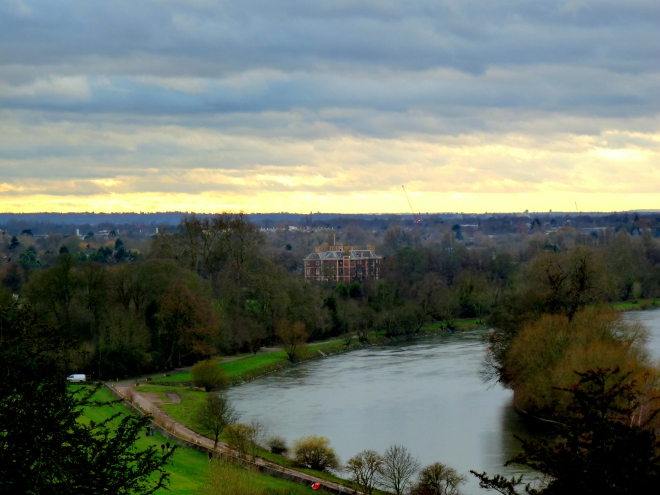 vue sur la Tamise de Richmond Hill