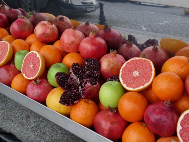 healthy street food à Istanbul
