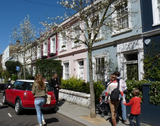 printemps à Notting Hill