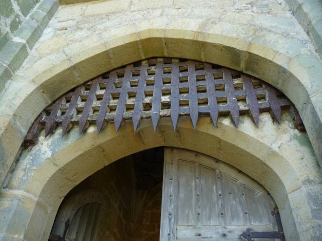 la herse du XIVème siècle